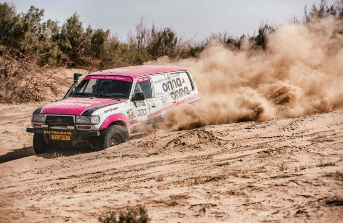 Nederlands all-female rallyteam zorgt voor opschudding in internationale rally