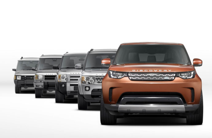 Nieuwe Land Rover Discovery in aantocht