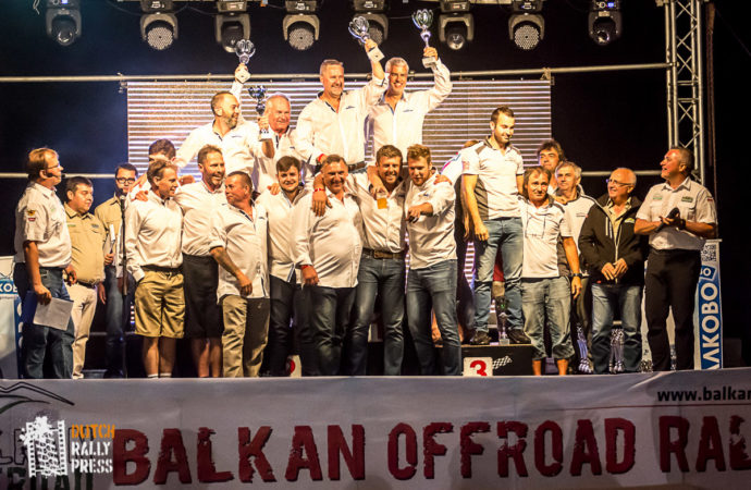 Winners of the Balkan Classic Rallye 2016