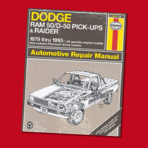 DODGE 50/D-50 pickups & Raider