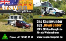 Trayon Campers, made in Australië