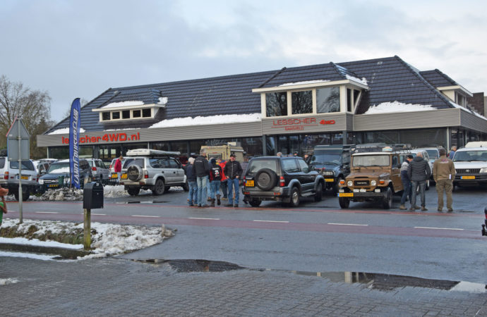 Nieuwjaarsrit Land Cruiser Club