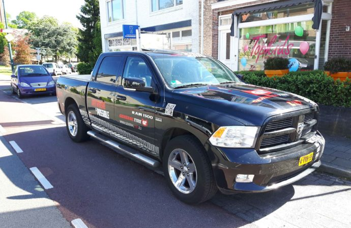 Spot de Dodge Ram General Tire/4WD pickup