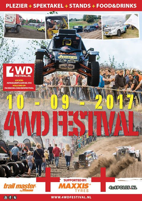 4WD Festival poster