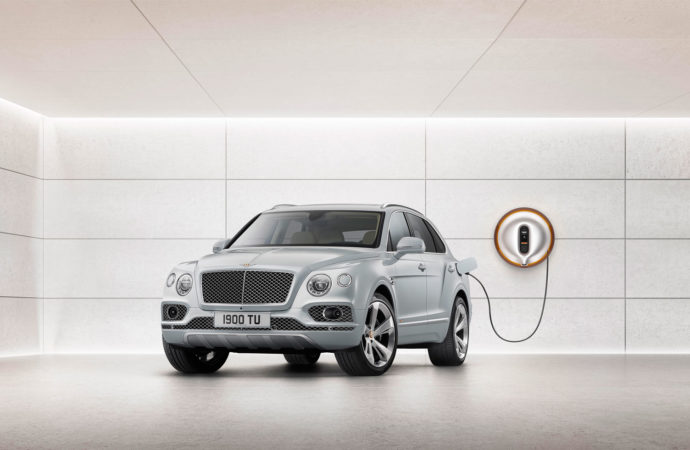 de Bentley Bentayga Hybrid