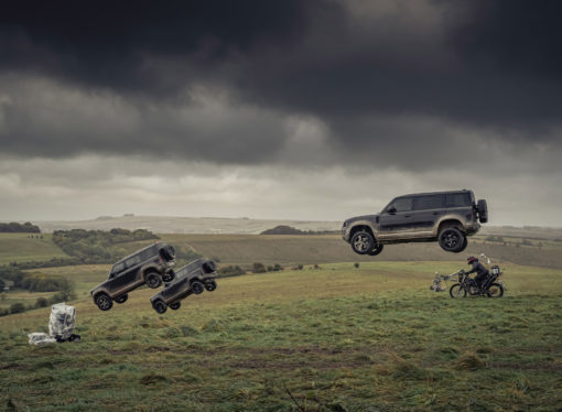 Televisiereclame James Bond film nieuwe Land Rover Defender