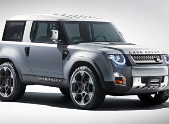 Land Rover plant Baby Defender