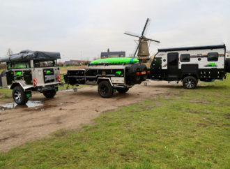 Australische off-road campertrailers en off-road caravan