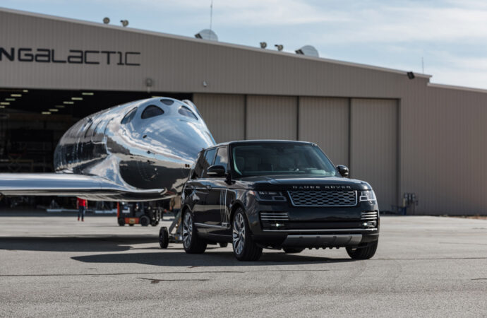 Virgin Galactic en Land Rover