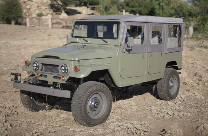 Toyota Land Cruiser van Icon 4×4